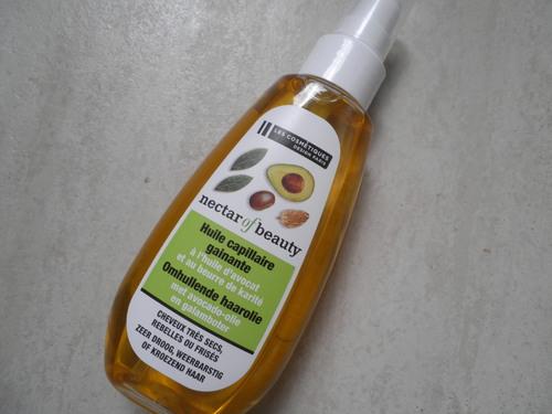 L'huile capillaire gainante Necat of nature
