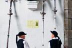 Petits bretons costumés à Loc-Ildut