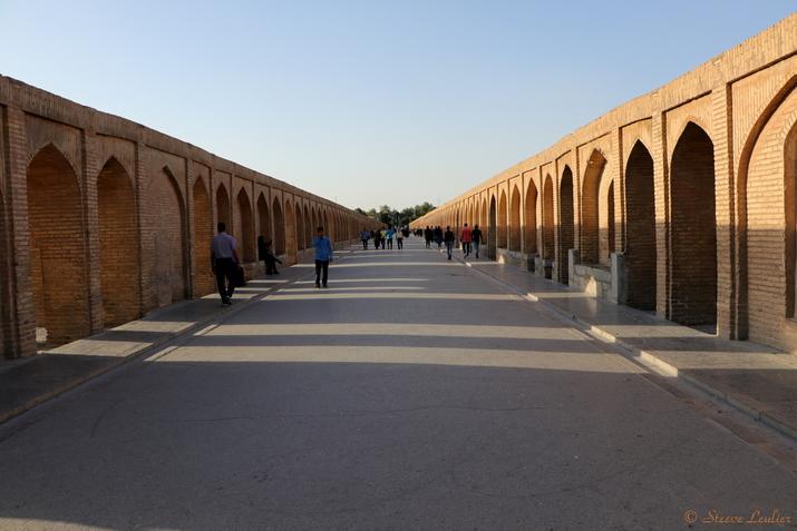 Le pont Si-o Seh Pol aux 33 arches, Ispahan