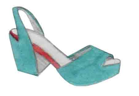 stilettos, sandales à talons