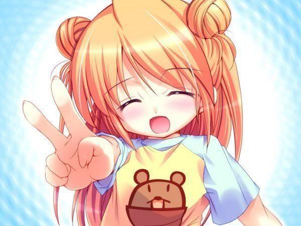 Peace Sign Anime Anime Peace Sign Pose Peace