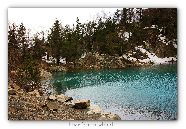 Lac bleu de Champclause