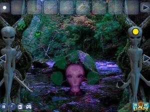 Jouer à Escape game alien mystery