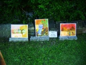 Expo de peinture, Jardin sensoriel STRASBOURG Mai 2010 024