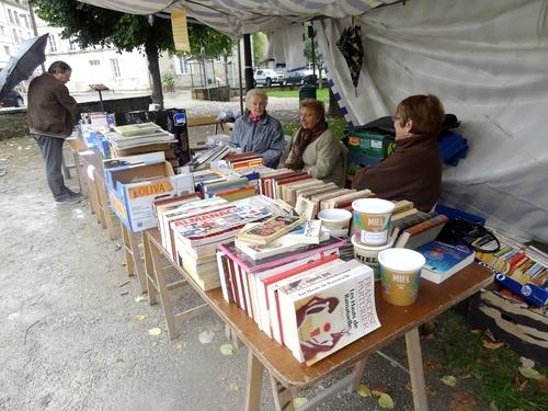 La foire aux livres et aux vieux papiers 2013 à Châtillon sur Seine