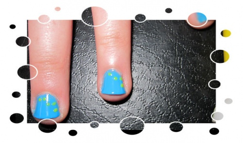 Le nail art pop d'Axelle
