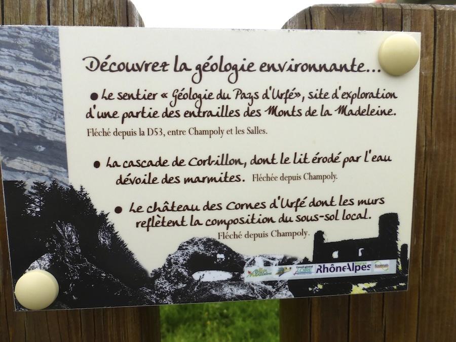 Balade Géologique au pays d'Urfé.