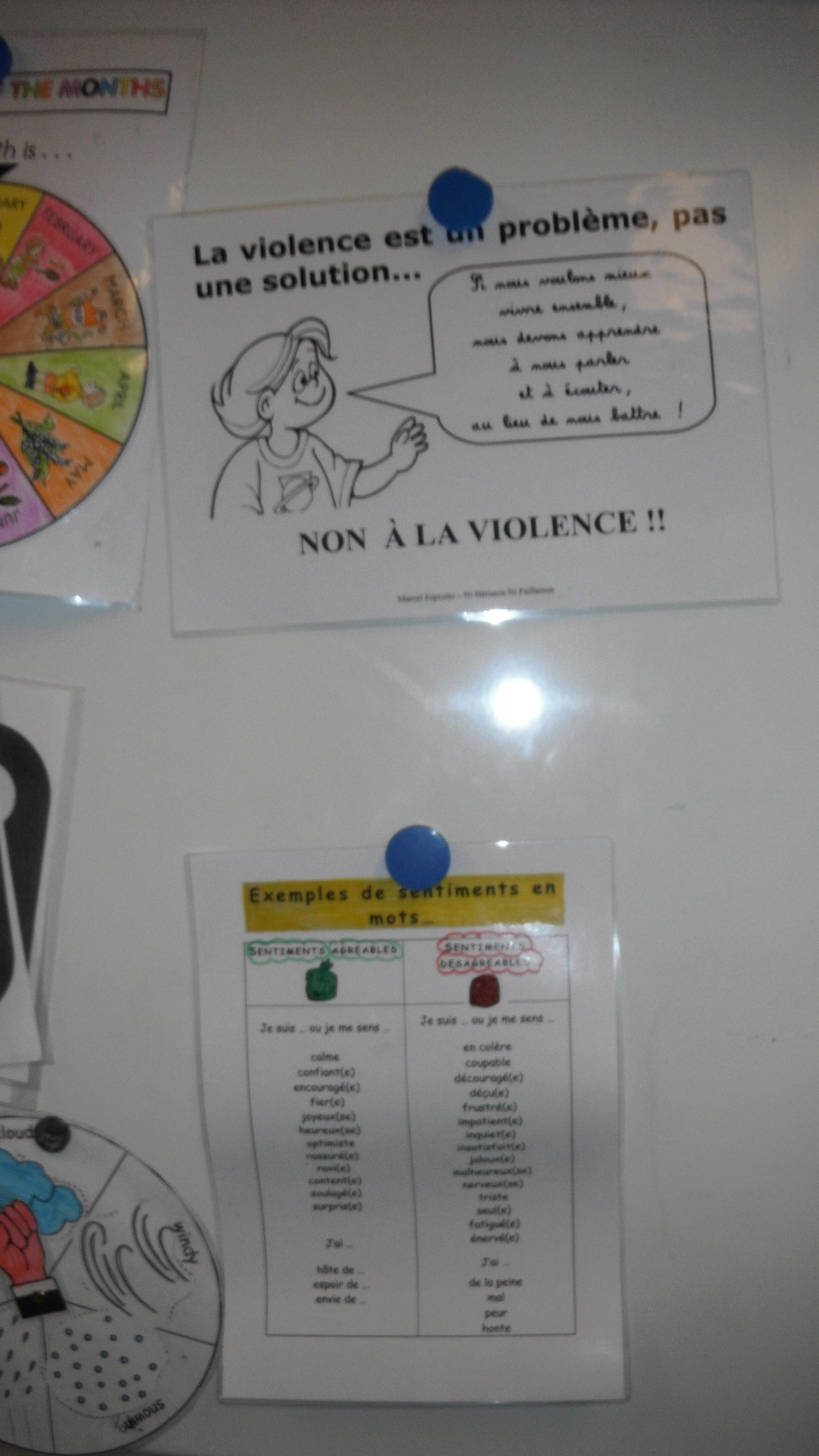 messages clairs et conflits en classe