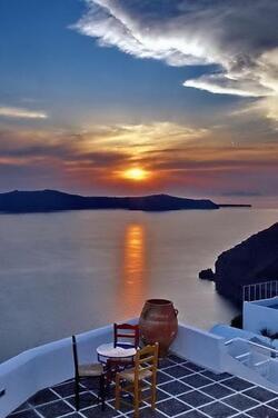 GRÈCE. Santorin (Mer Égée)  (Voyages)