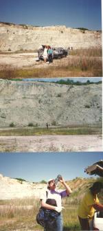 Club de géologie le béryl Tournefeuille 1992 Carrière Tercis dept40 001