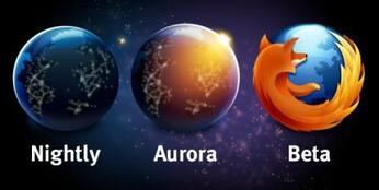 PHOTO : Aurora - Firefox (Source : PC World .fr)