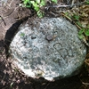 Pilier gravé près de BF 409