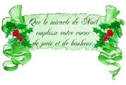 "Echange ""Noel"" chez Manou"