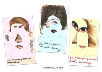 Entre lecture et arts visuels : le portrait