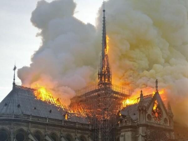 Notre Dame de Paris- incendie criminel ?