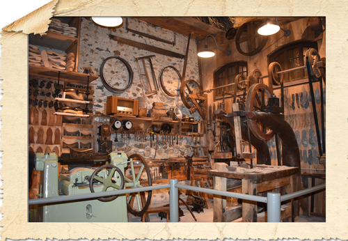 38730 Val de  Virieu  Musée de l'Histoire de laGaloche
