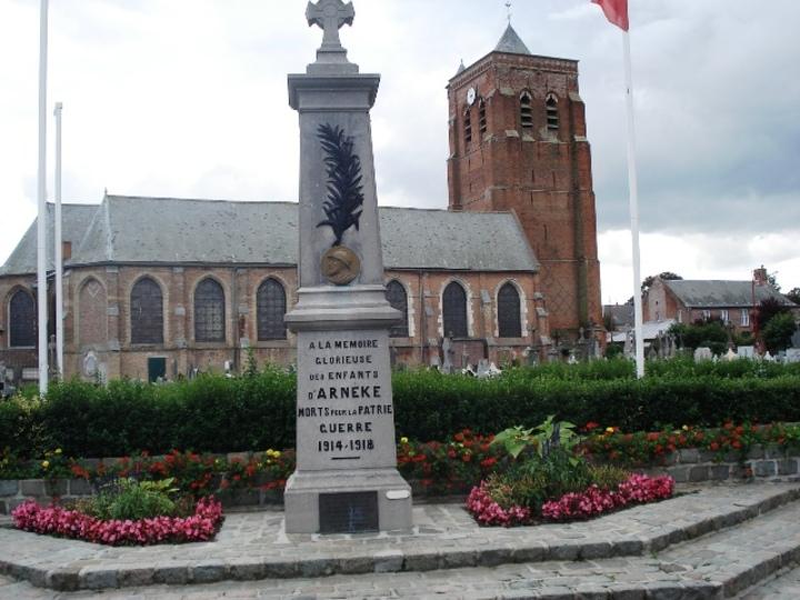 A Arnèke saint Gohard.