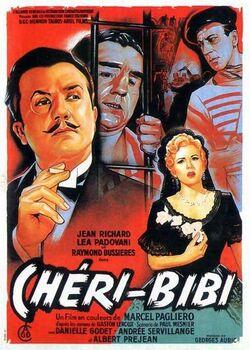 """film """"Chéri Bibi"""" avec Jean Richard, de 1956"""