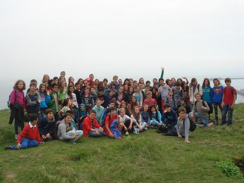 Voyage de fin d'études des classes de 6è. France et Angleterre.