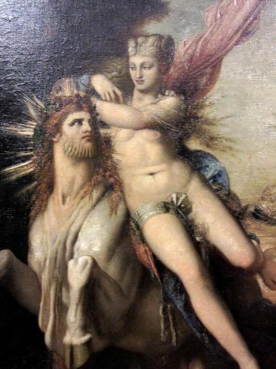 Gustave Moreau, Jupiter et Europe