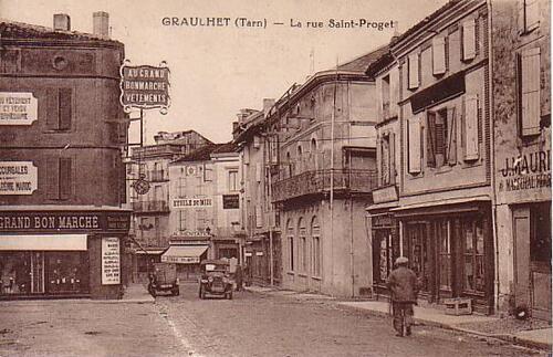 AU GRAND BON MARCHE  - RUE SAINT-PROJET