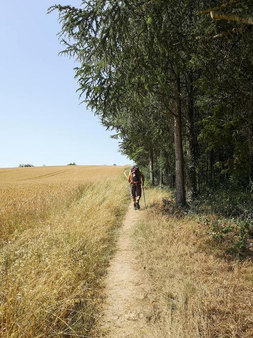 2ème jour Auvillar (82) > Castet-Arrouy (32) 22,60 km - 40°C