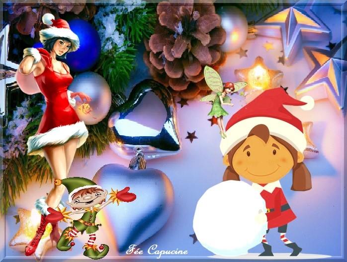 La fille du Père Noël pour Nathie
