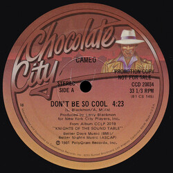 Cameo - Don't Be So Cool