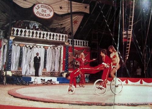 le Festival du Cirque de Demain chez Jean Richard en  1981