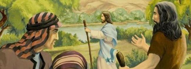 la mission de Jean Baptiste