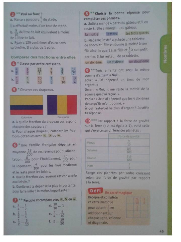 Outils Pour Les Maths Cm2 La Classe De Stefany