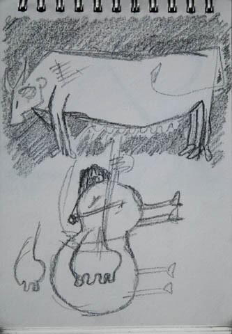 Vache de contrebasse