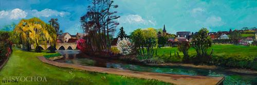 La Baignade, Savigny-sur-Braye