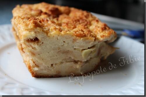 Pudding à la pomme