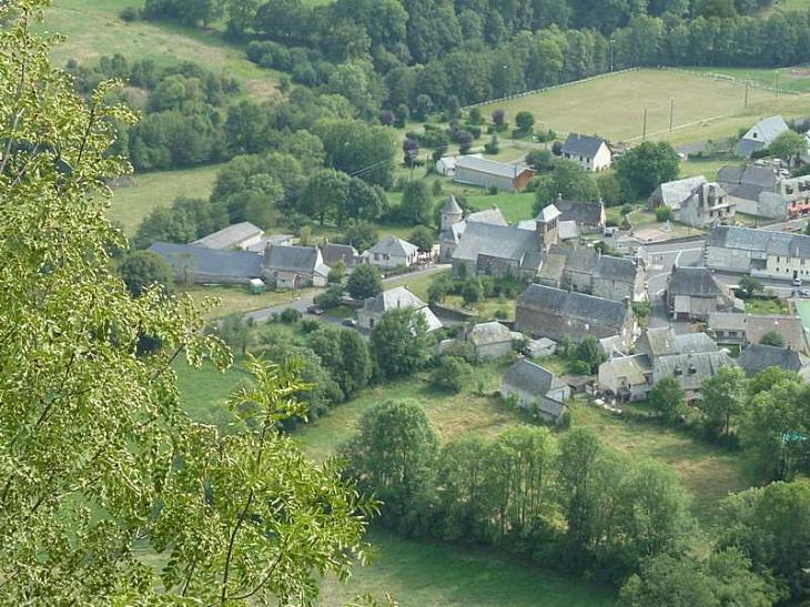 Vue d'ensemble - Saint-Martin-sous-Vigouroux