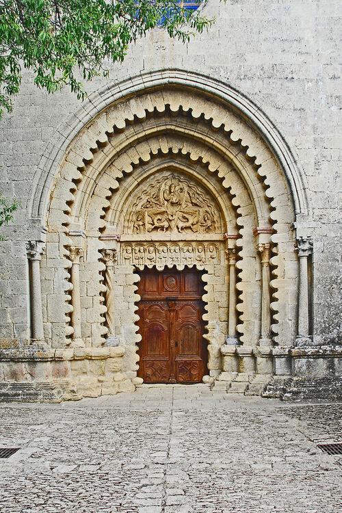 Le monastère de Ganagobie...