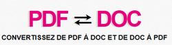 Convertir un PDF en word et inversement dixmois