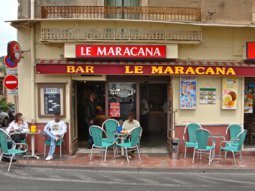 Bédarieux café Maracana style Depardon