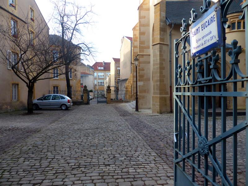L'église St Eucaire à Metz
