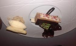 """Restaurant 1 étoile le """"M"""" à Brest Chocolat vanuari"""