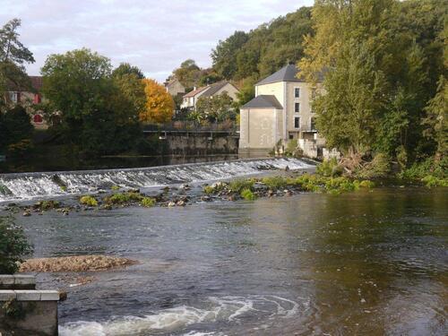 Le moulin au bord de la Creuse