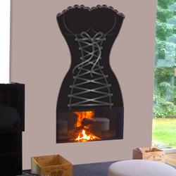 Bustier cheminée