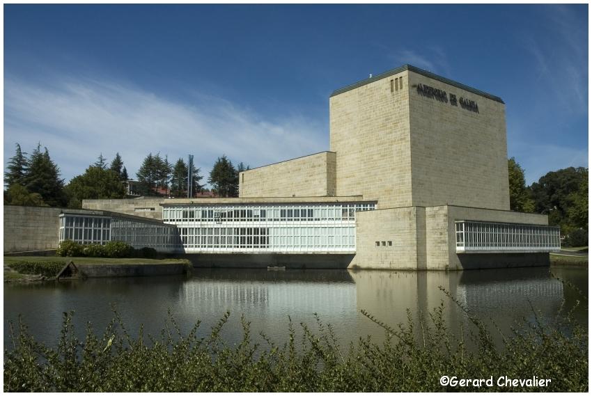 Santiago de Compostela - Auditorium de Galice.
