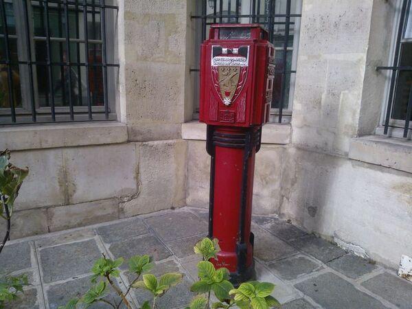 Paris, prise d'eau pour les pompiers