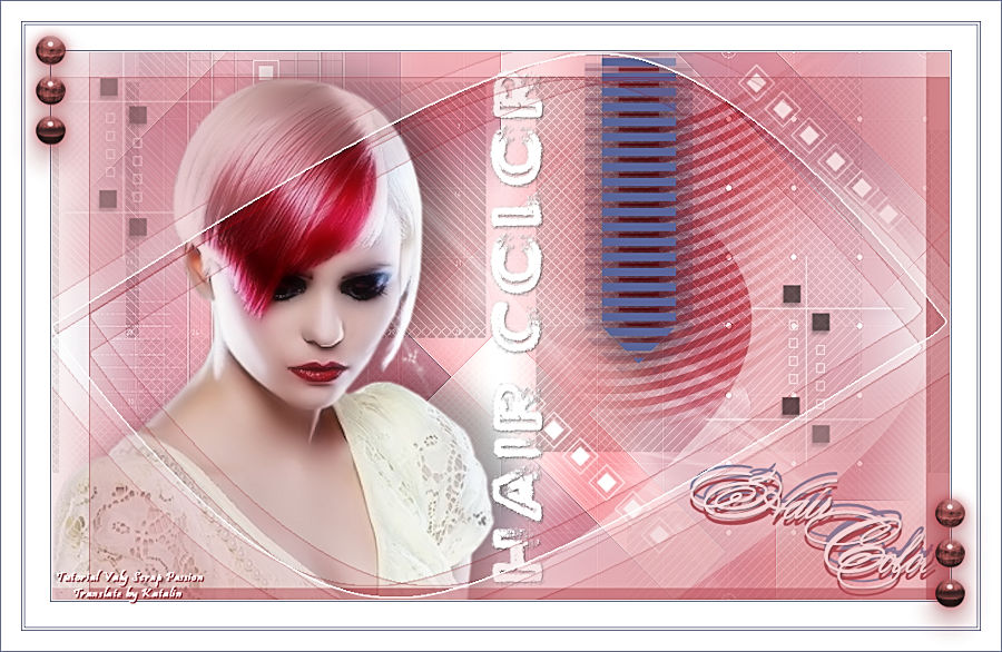 Tutorial Valy Scrap Passion ~ Hair Color