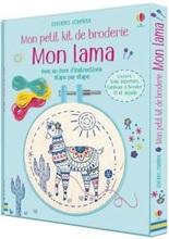 Mon petit kit de broderie - Mon Lama