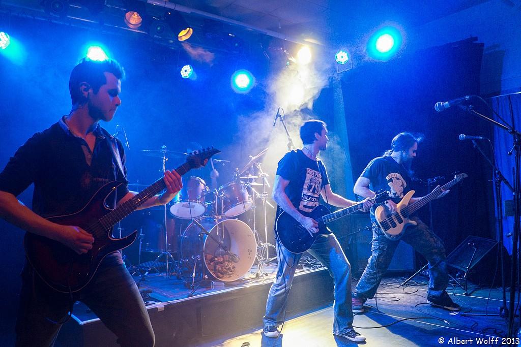 10 photos sur 600 pour un concert rock