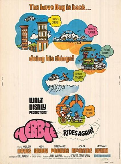 HERBIE-RIDES-AGAIN BOX OFFICE USA 1974