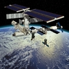 ISS en 3D (station spatiale internationale)