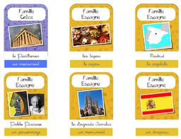 jeu des 6 familles d'Europe